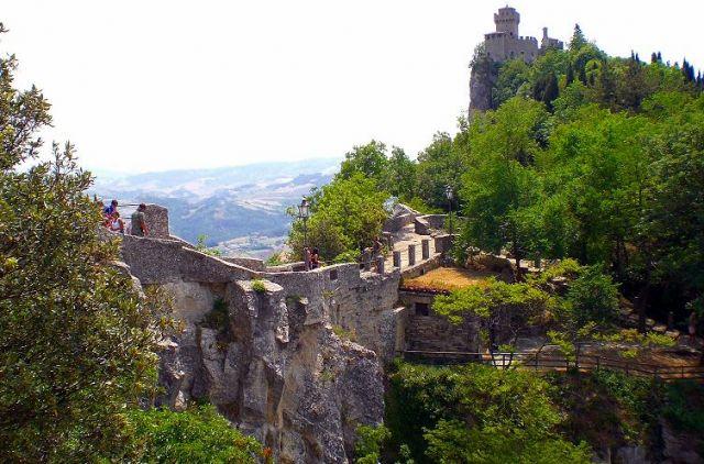 Zdjęcia: San Marino, Zamek i mury obronne, SAN MARINO