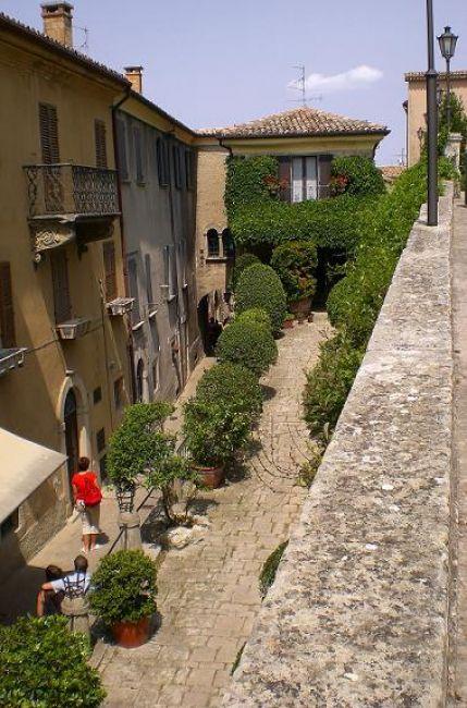 Zdjęcia: San Marino, Uliczki San Marino, SAN MARINO