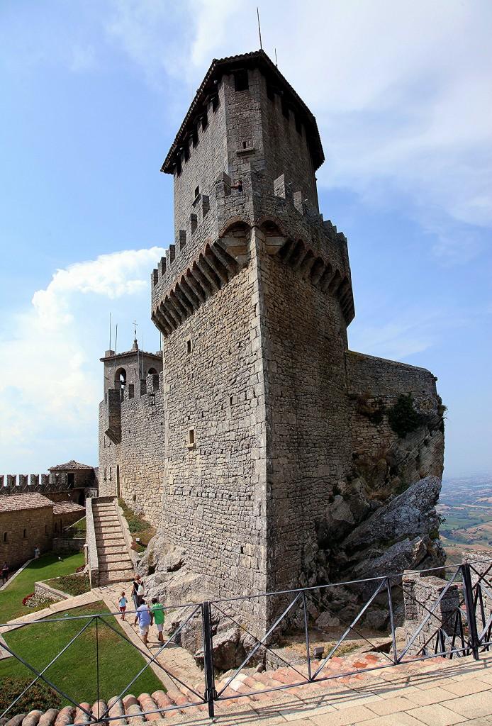 Zdjęcia: Zamek La Rocca o Guaita, Mount Titano, Pierwsza Wieża, SAN MARINO