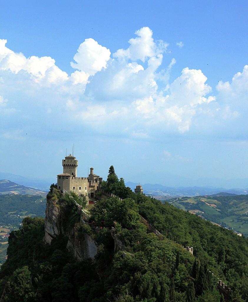 Zdjęcia: La Rocca o Guaita, Mount Titano, La Cesta o Fratta oraz Montale, SAN MARINO