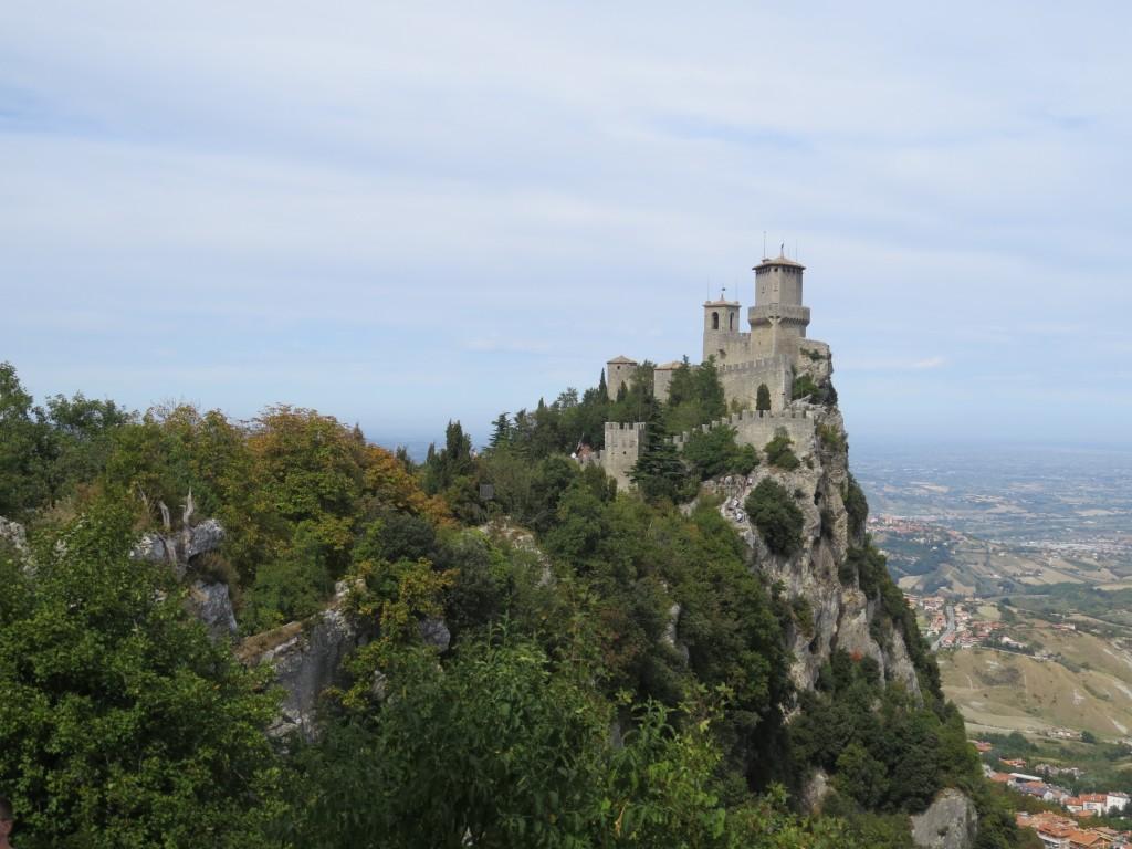 Zdjęcia: Republika San Marino, Republika San Marino, Zamek na Wzgórzu  (Zamkowym), SAN MARINO