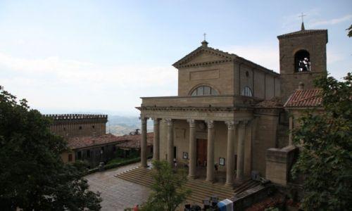 Zdjęcie SAN MARINO / San Marino / Centrum miasta / Bazylika Świętego Marino