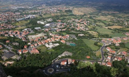 Zdjęcie SAN MARINO / San Marino / Mount Titano / Okolice zamku