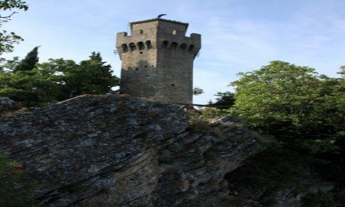 Zdjęcie SAN MARINO / San Marino / Mount Titano / Twierdza Montale