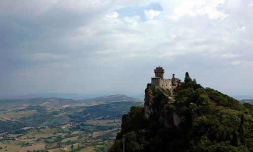 Zdjęcie SAN MARINO / San Marino / Mount Titano / La Cesta o Fratta