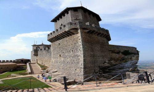 Zdjęcie SAN MARINO / Mount Titano / Zamek La Rocca o Guaita / Pierwsza Wieża
