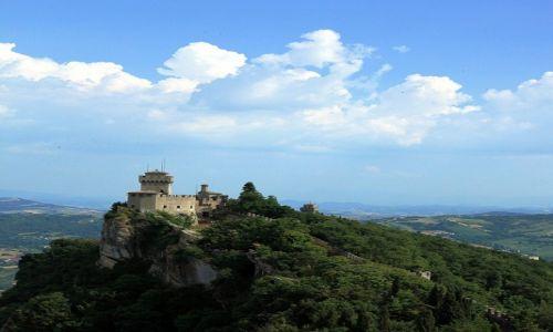 Zdjęcie SAN MARINO / Mount Titano / La Rocca o Guaita / La Cesta o Fratta oraz Montale