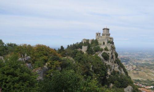 Zdjecie SAN MARINO / Republika San Marino / Republika San Marino / Zamek na Wzgórzu  (Zamkowym)