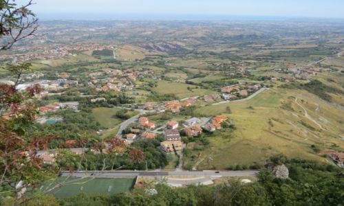 Zdjecie SAN MARINO / Republika San Marino / Republika San Marino / Widok ze Wzgórza