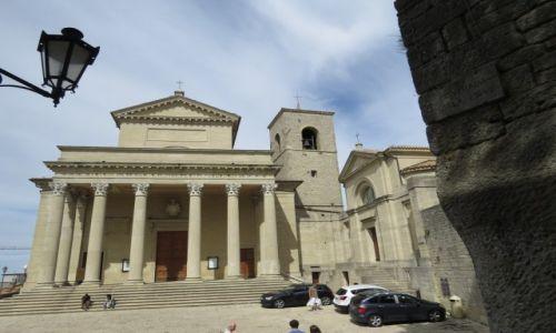 Zdjecie SAN MARINO / Republika San Marino / Republika San Marino / Bazylika na Wzgórzu