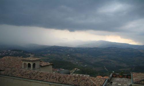Zdjecie SAN MARINO / brak / Plazzo del Govermo / Widok z Monete Titano