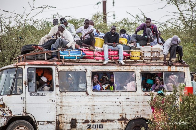 Zdjęcia: Senegal, Senegal, African Road Trip - transport publiczny w Senegalu, SENEGAL