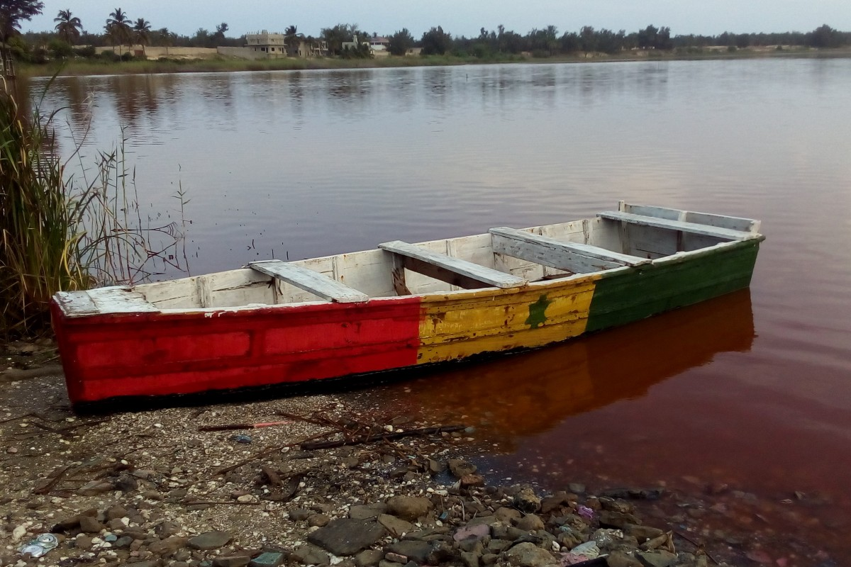 Zdjęcia: Lac Rose, Północny Senegal, Kolory Senegalu, SENEGAL