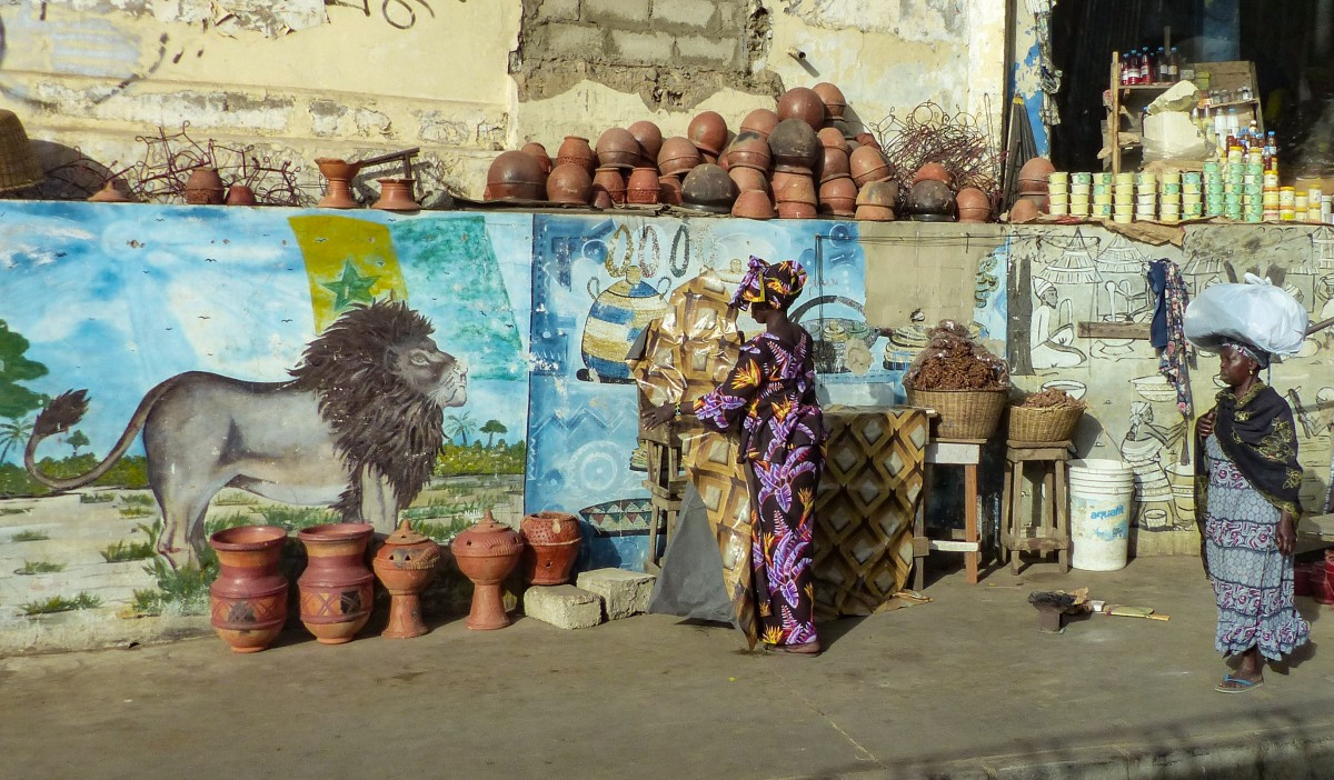 Zdjęcia: Dakar, przedmieścia Dakaru, SENEGAL