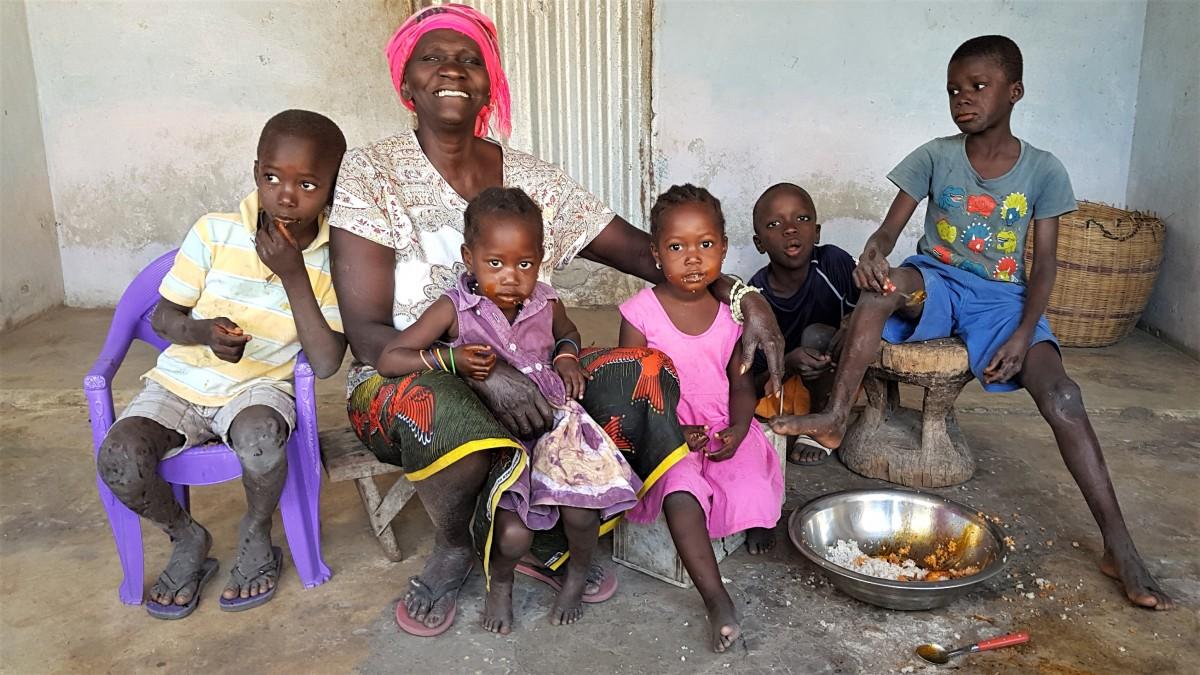 Zdjęcia: Wyspa Vendaye, Casamance, Rodzinnie, SENEGAL