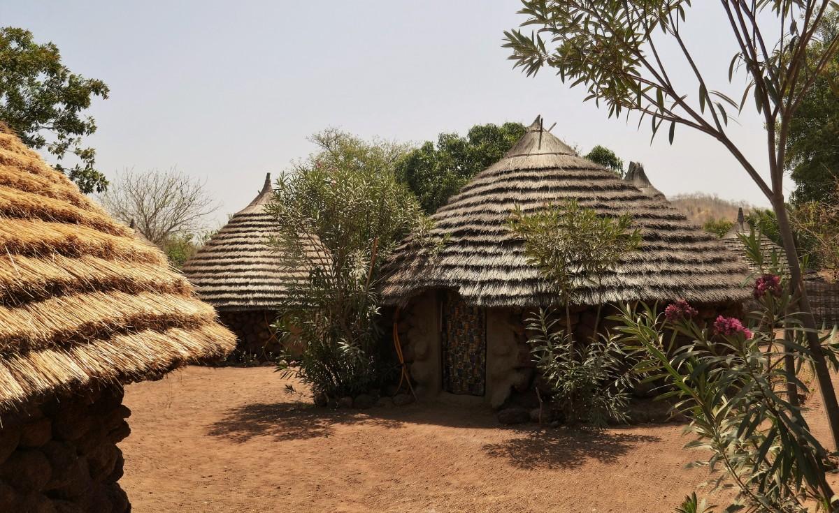 Zdjęcia: Wioska w okolicy Kedougou, Południowy wschód Senegalu, Wioska Bassari, SENEGAL