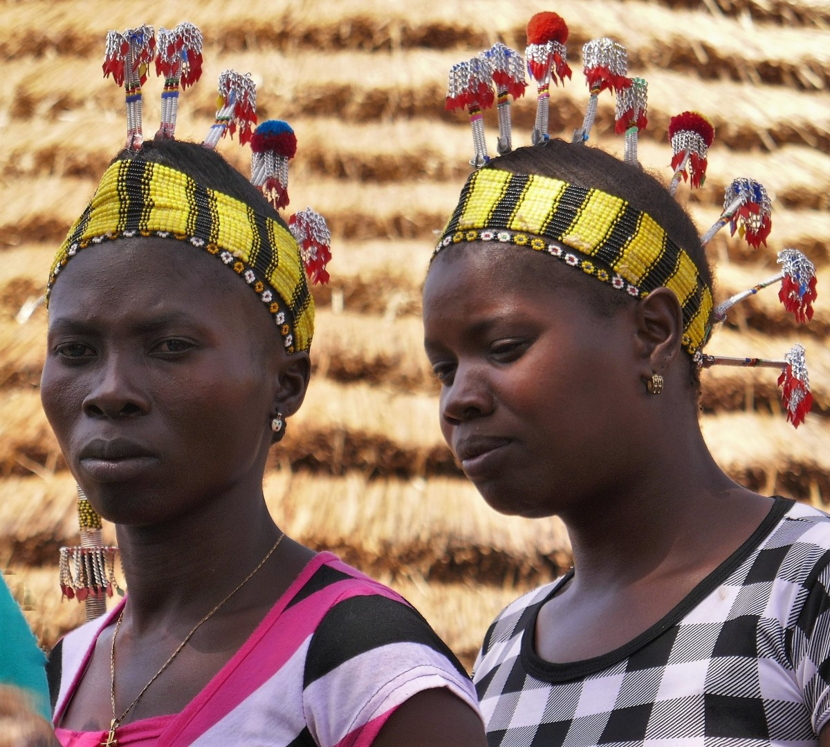 Zdjęcia: Wioska Bassari, Południowy wschód Senegalu, Kobiety Bassari, SENEGAL