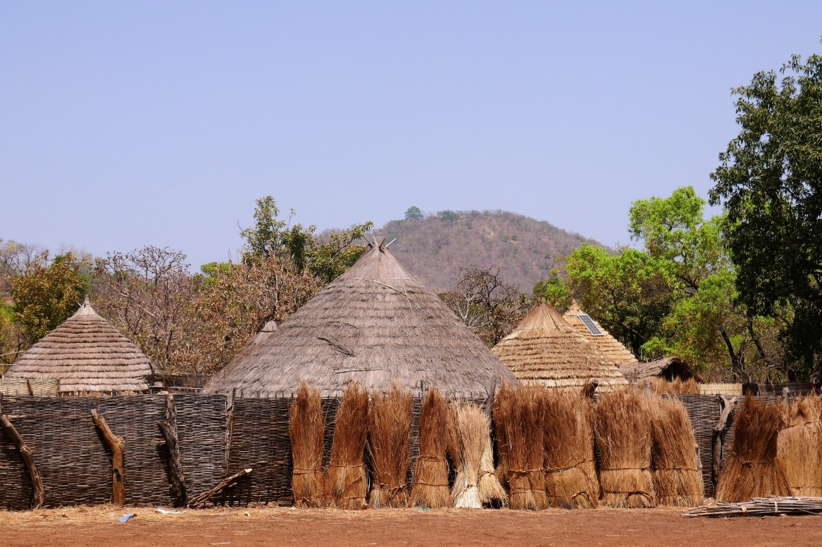 Zdjęcia: Wioska Bassari, Południowy wschód Senegalu, Nowoczesność w domu i w zagrodzie ;), SENEGAL