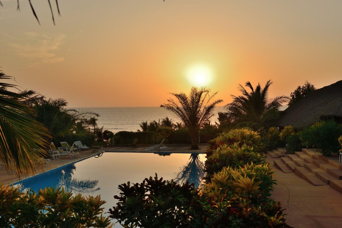 Zdjęcia: hotel Maya, Cap Skirring, Bywa w namiocie i bywa tak, SENEGAL