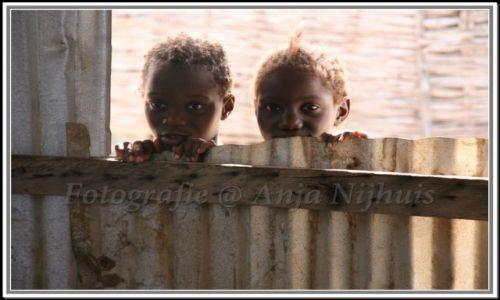 SENEGAL / Afryka / jedna z wysp  w Senegalu / ach te oczy