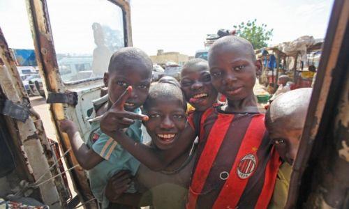 Zdjecie SENEGAL / Afryka / Saint Louis / Hello :-)