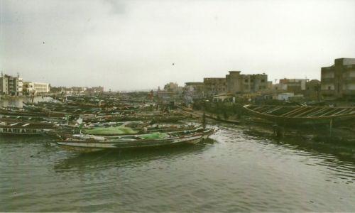 Zdjęcie SENEGAL / Płn. Senegal / Saint-Louis / Przystań