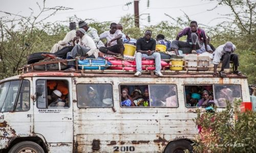 SENEGAL / Senegal / Senegal / African Road Trip - transport publiczny w Senegalu
