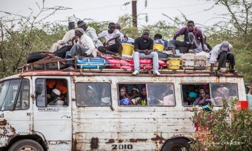 Zdjęcie SENEGAL / Senegal / Senegal / African Road Trip - transport publiczny w Senegalu