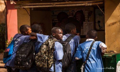 Zdjęcie SENEGAL / Senegal / Senegal / African Road Trip - uczniowie na wyspie Ngore w Senegalu