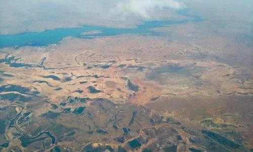 SENEGAL / Gambia i Senegal / 10 km nad ziemi� / Z lotu ptaka 3