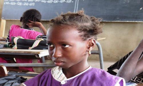 SENEGAL / prowincja Casamance / Cap Skirring / W szkole