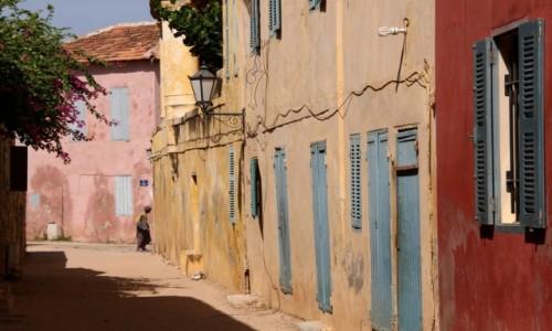 Zdjęcie SENEGAL / Dakar / Wyspa Goree / Uliczka