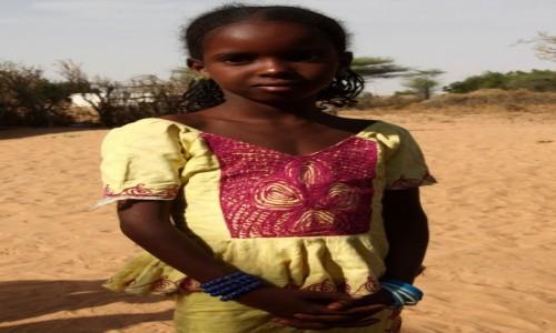 Zdjęcie SENEGAL / Północny Senegal / Toubacouta / Mała Senegalka