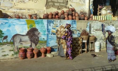 Zdjecie SENEGAL / - / Dakar / przedmieścia Dakaru