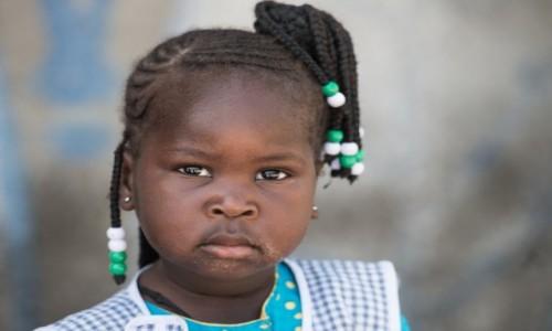 Zdjęcie SENEGAL / Casamance / Na zachód od Zuiginhor / Koralikowa Junior ;-)