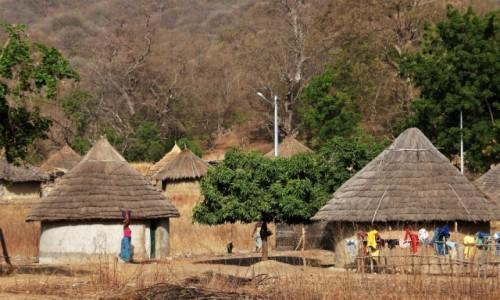 SENEGAL / Południowy wschód Senegalu / Okolice Bandafassi / Wioska plemienia Bedik