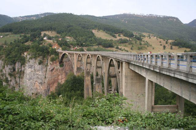 Zdj�cia: Durmitor, Most na Tarze, SERBIA