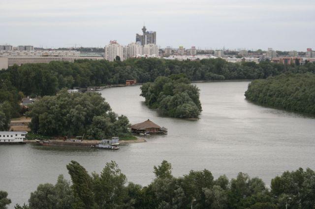 Zdj�cia: Belgrad, Polaczenie Dunaju i Sawy, SERBIA