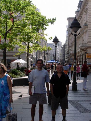 Zdjęcia: Belgrad, Serbia, Deptak w centrum Belgradu, SERBIA