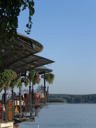 Zdjęcia: nad Dunajem, Novy Sad, tarasy, SERBIA