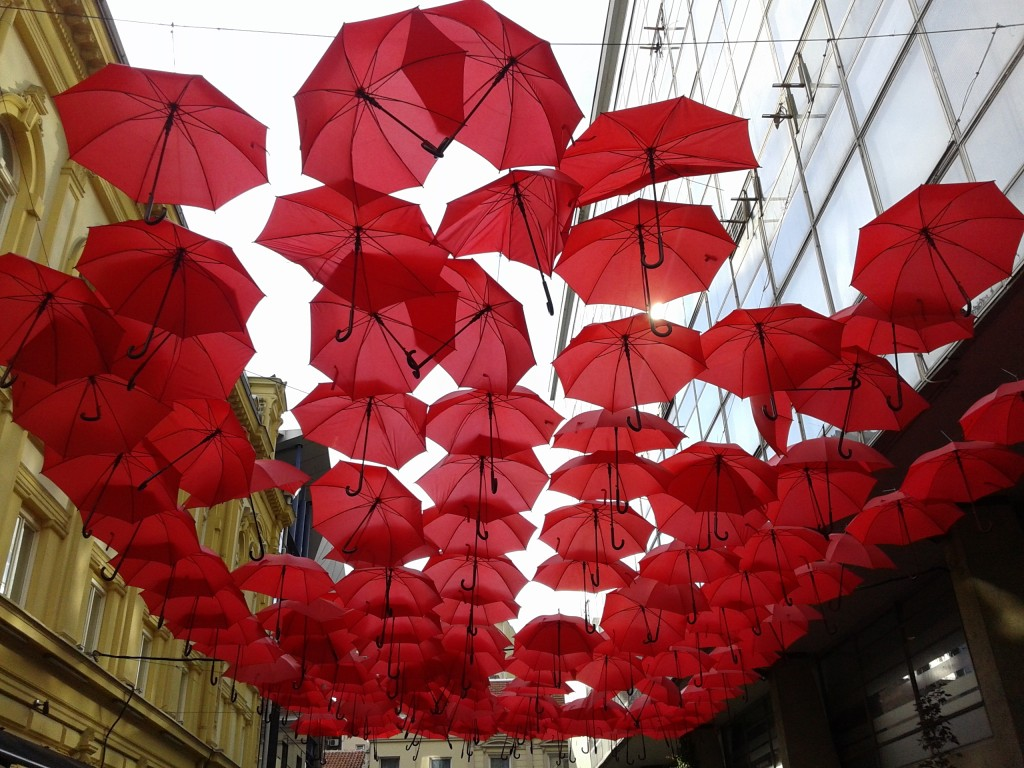 Zdjęcia: Belgrad, Belgrad, Parasolki, SERBIA