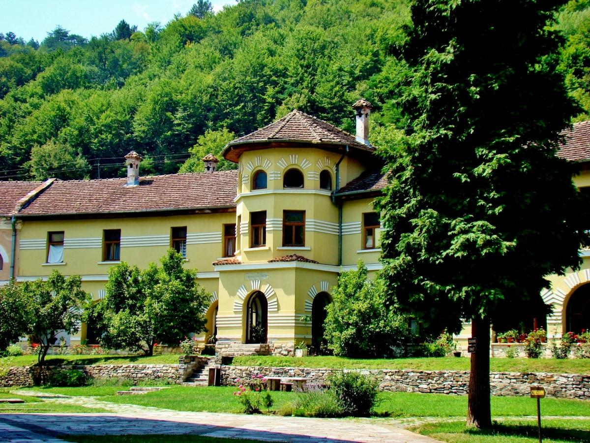 Zdjęcia: Studenica, Brezova,Raska, Studenica-kwatery mnichów, SERBIA