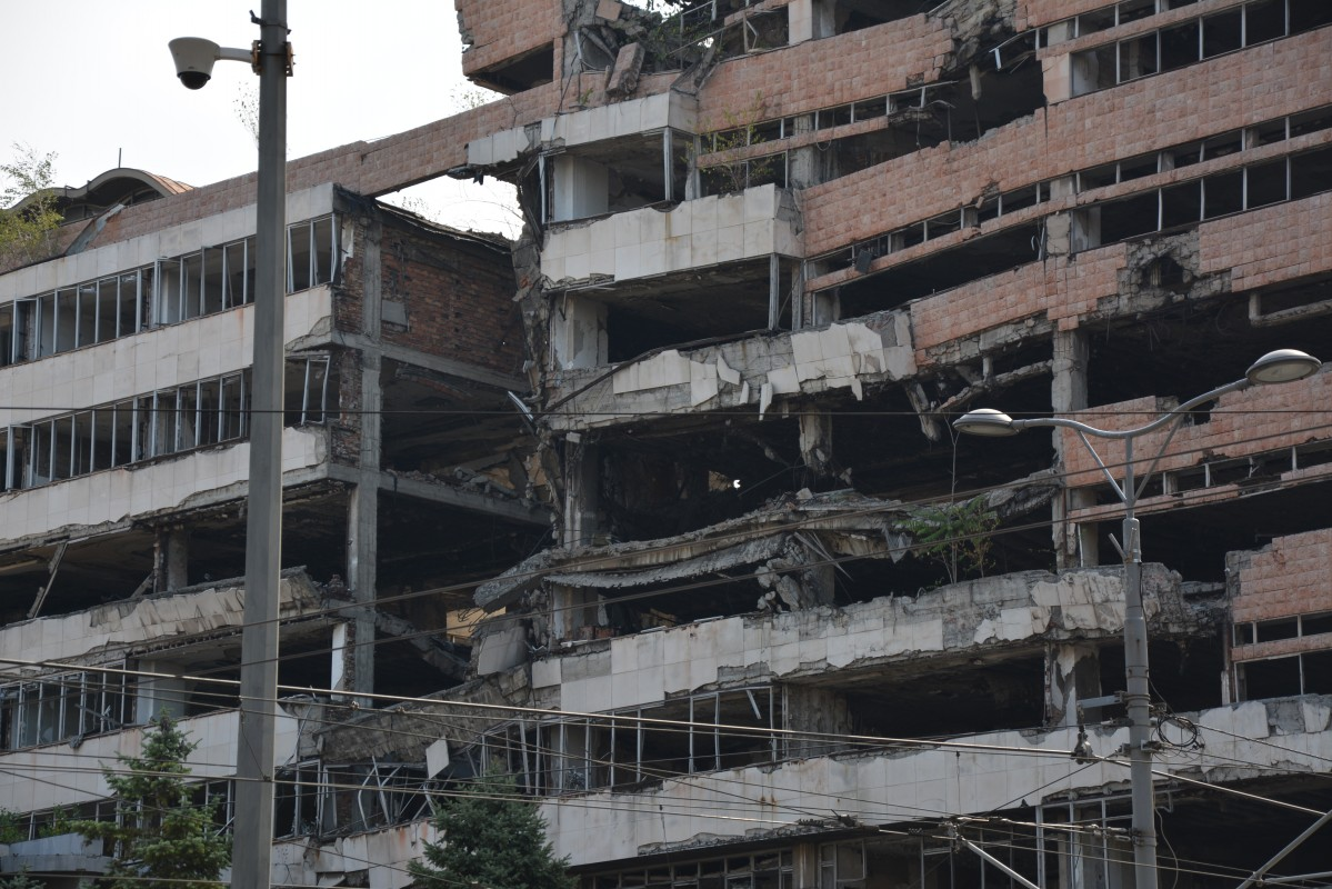 Zdjęcia: centrum miasta, Belgrad, ku pamięci i przestrodze..., SERBIA