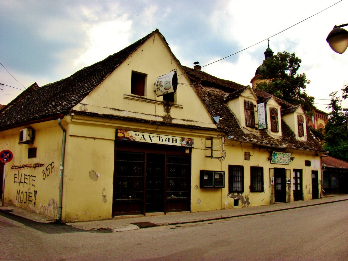 Zdjęcia: Sremski Karlovci, Vojvodina, Sremski Karlovci-ulica Stratimirowicia, SERBIA