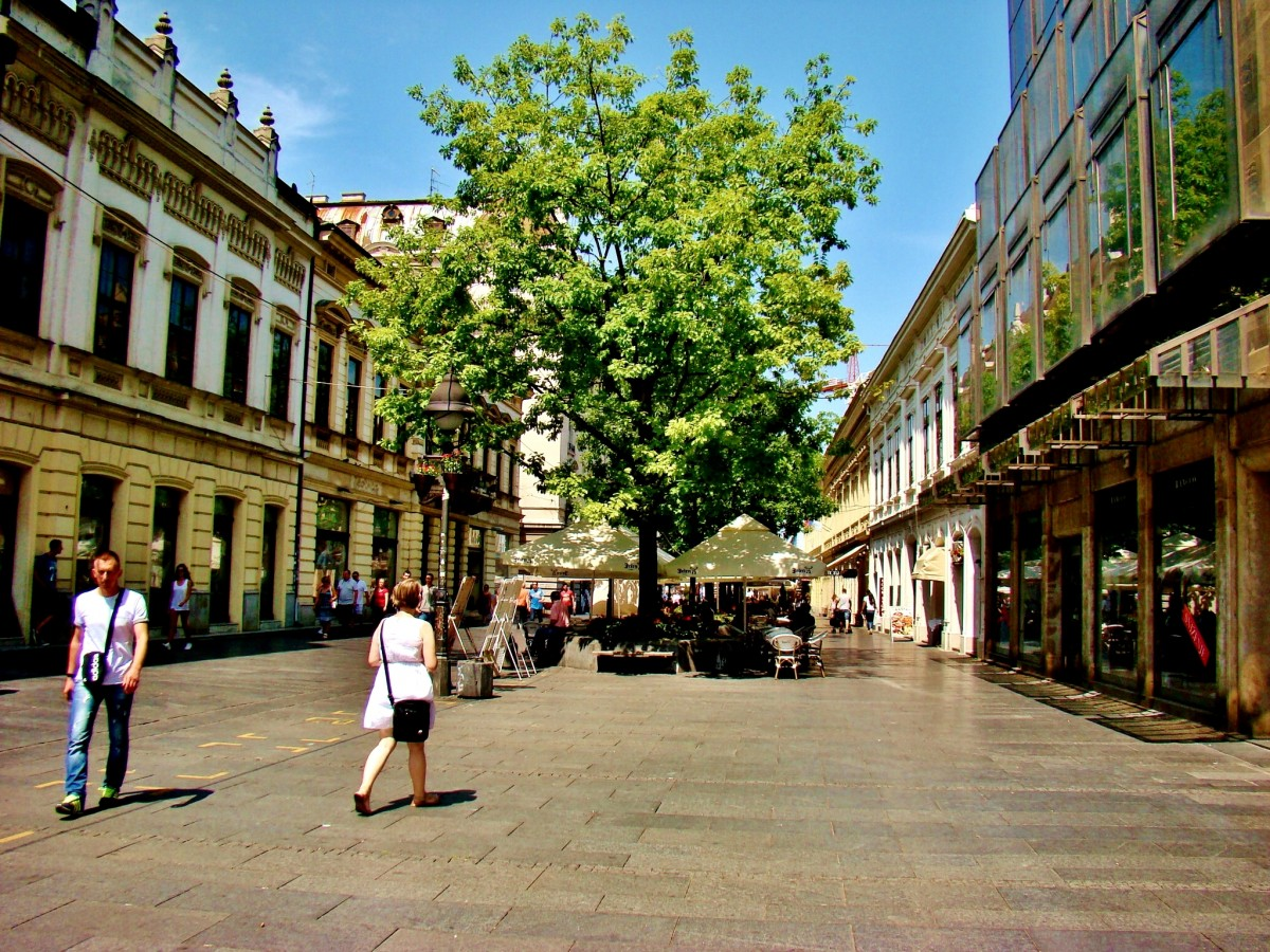 Zdjęcia: Belgrad, Belgrad-deptak Kneza Mihaila, SERBIA