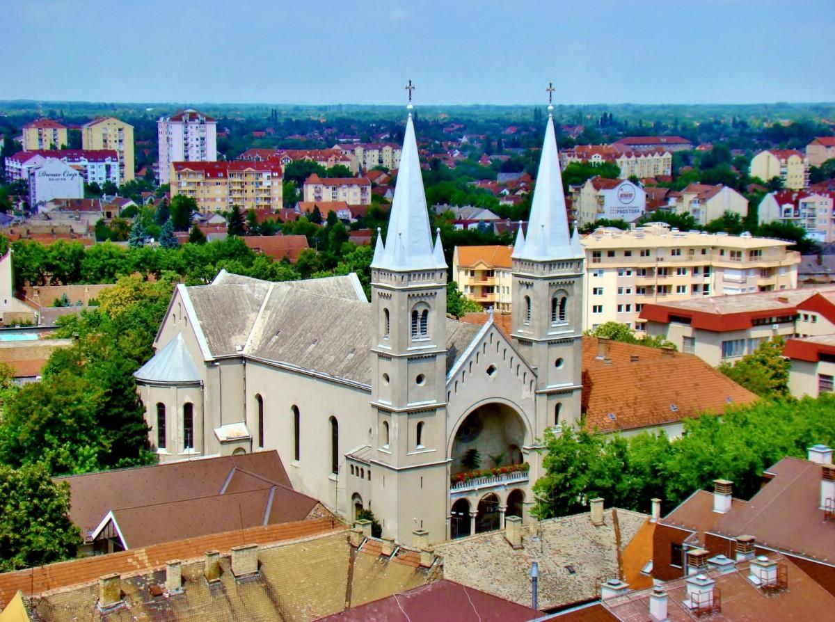 Zdjęcia: Subotica, Vojvodina, Kościół św.Michała z 1736 roku/katolicki/, SERBIA