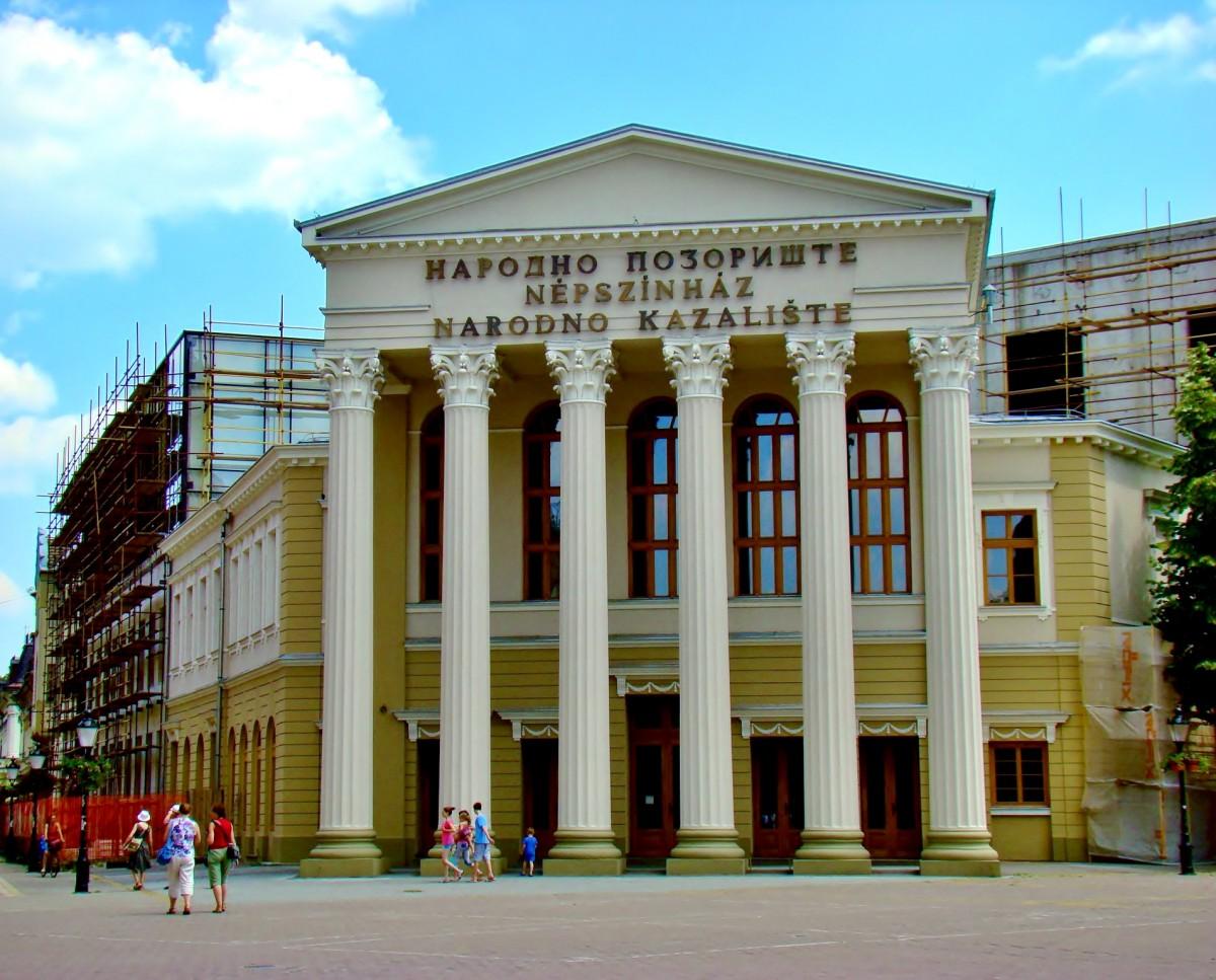 Zdjęcia: Subotica, Vojvodina, Teatr Narodowy z 1854 roku, SERBIA