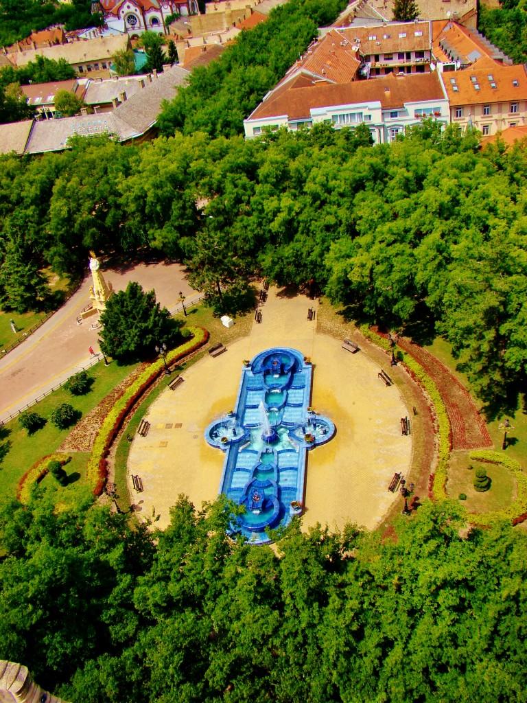 Zdjęcia: Subotica, Vojvodina, Subotica-niebieska fontanna, SERBIA