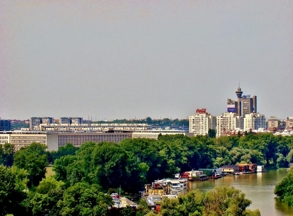 Zdjęcia: Belgrad, Belgrad-widok z twierdzy Kalemegdan, SERBIA