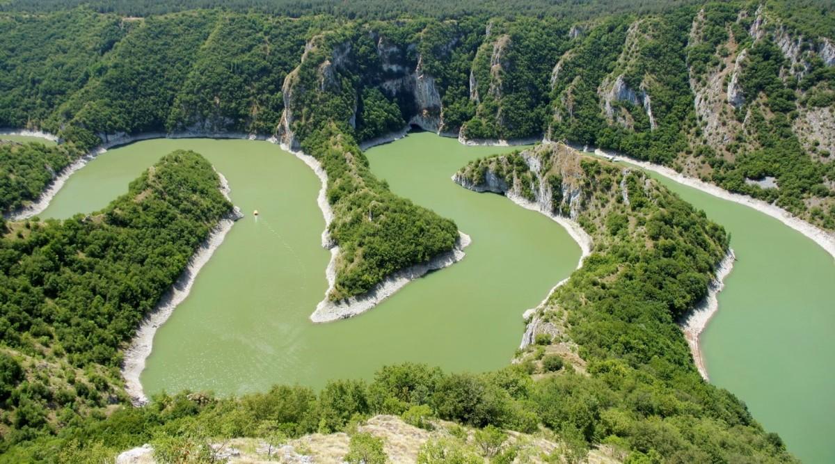 Zdjęcia: Muhovići, płd.-zach. Serbia, Kanion rzeki Uvac, SERBIA